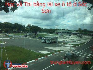 Hoc Va Thi Bang Lai Xe O To O Soc Son