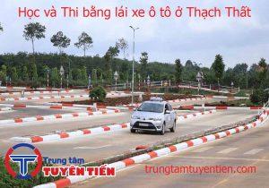 Hoc Va Thi Bang Lai Xe O To O Thach That