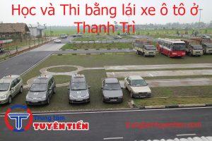 Hoc Va Thi Bang Lai Xe O To O Thanh Tri