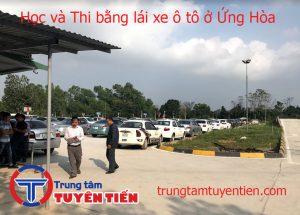 Hoc Va Thi Bang Lai Xe O To O Ung Hoa